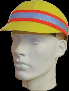 Orbis reflective band on bump cap